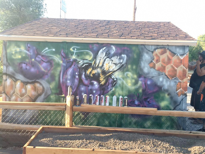Wasatch Community Garden Mural